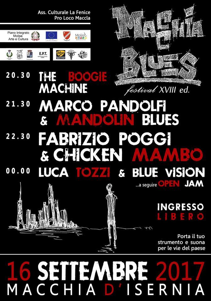 Macchia Blues Festival XVIII edizione